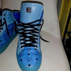 Nice mcm blue Sneaker